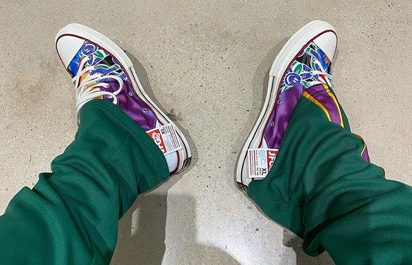 匡威 x Joe Freshgoods 全新联名 Chuck 70 鞋款抢先预览