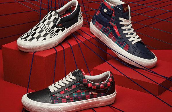 Vans Vault x BARACUTA 全新联名鞋款系格纹元素