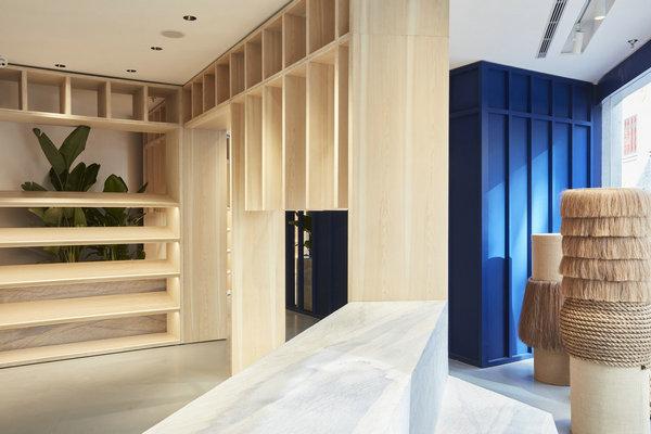 欣赏Stüssy内地首间上海 Chapter 专门店设计