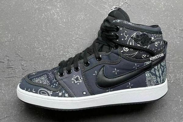 「腰果花」Air Jordan 1 KO 鞋款實物曝光,期待值拉滿