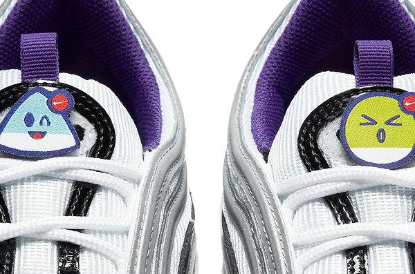 表情符号 Air Max 97 鞋款鞋舌魔术贴设计欣赏