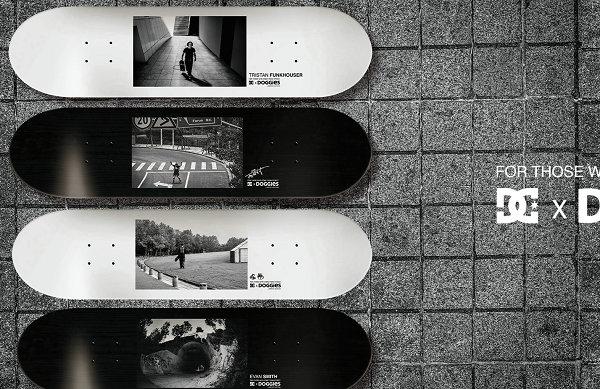 欣赏DC Shoes x Doggies 全新联名滑板系列限量版设计