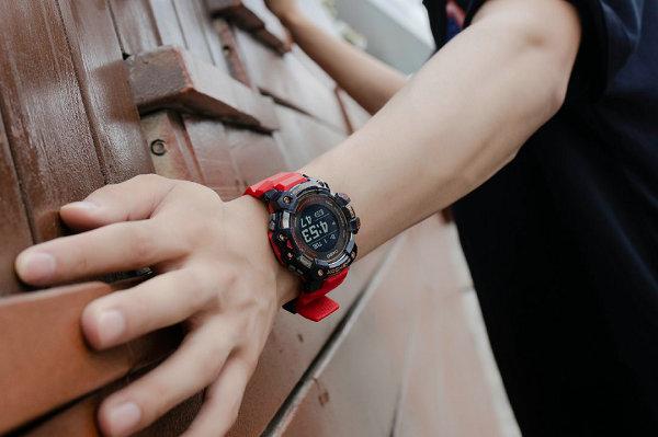 卡西歐全新 G-SQUAD 腕表系列發布,硬核運動支持