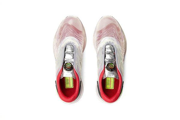 欣賞Gucci 古馳全新 Ultrapace R 透明橡膠鞋設計