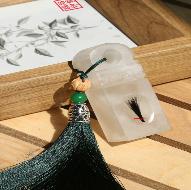 荔枝冻石脐带章