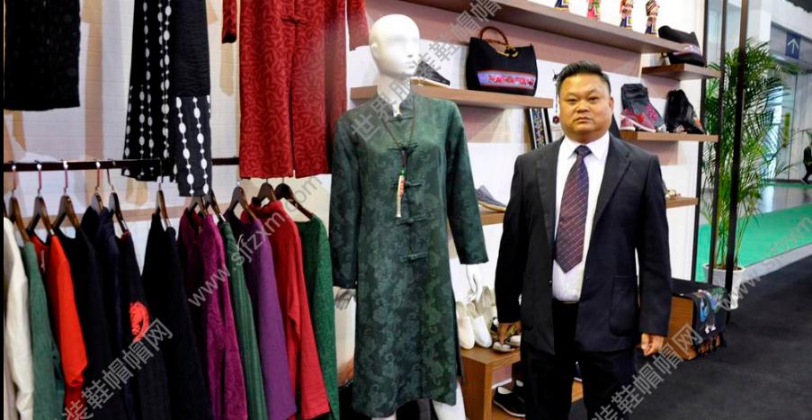 2017宁波服装节贵州作为西南民族代表展位靓影