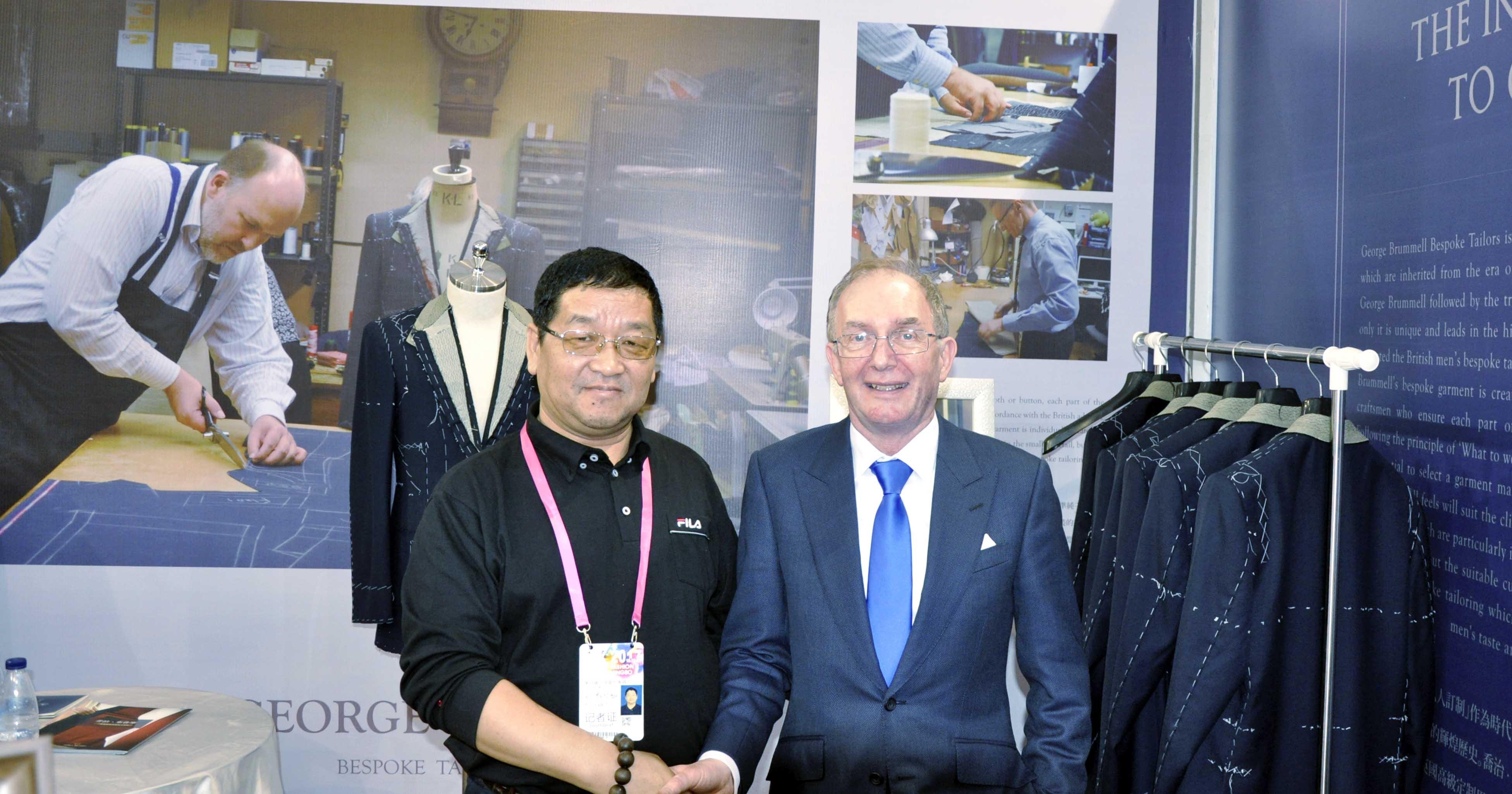 英国品牌:乔治布鲁摩品牌亮相宁波服装节