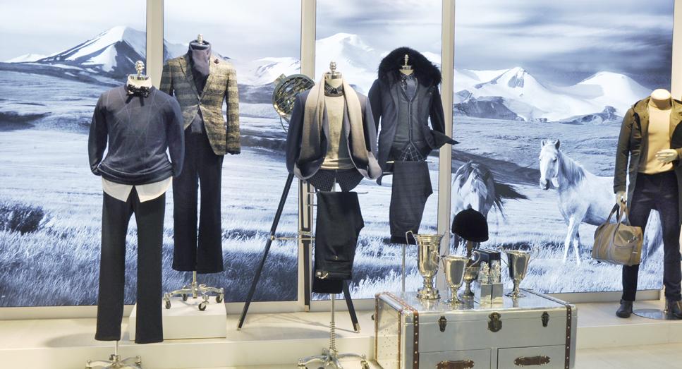 美国品牌:哈特马克斯男装展现2017宁波服装节