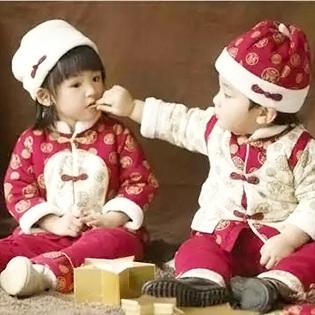 金发拉比丨唐装暖暖中国风 让baby在春节注定与众不同!
