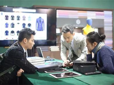 """CHIC2017春季展:集盒JIHE闪耀""""时尚男装""""展区——中国原创设计师男装品牌"""